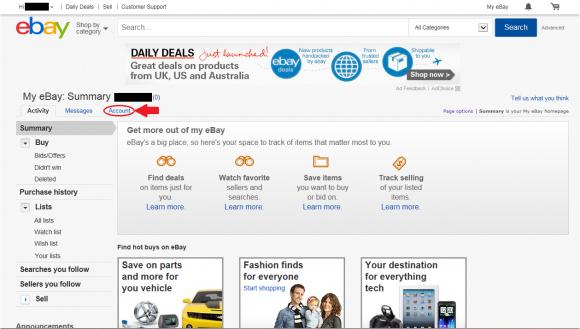 Register on ebay commentary5