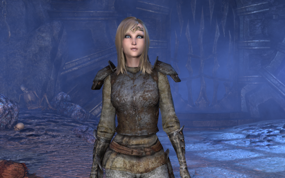 Teso my character making woman