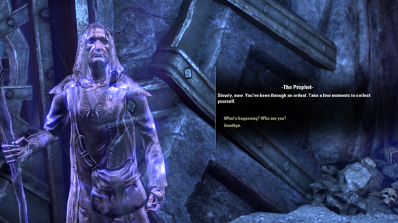 Teso clear old man
