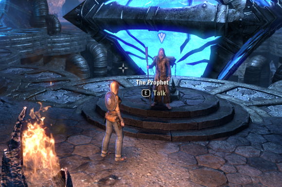 Teso old man appeared