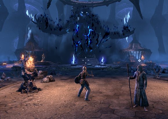 Teso the first boss