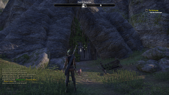 Teso discover the cave