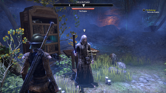 Teso invade the cave