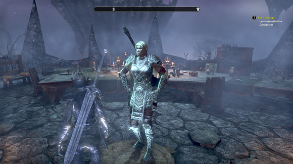 Teso legendary female warrior