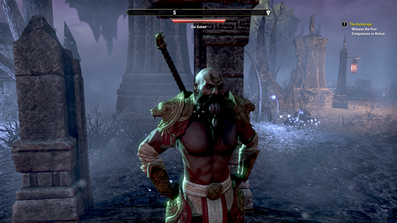 Teso the legendary dwarf warrior