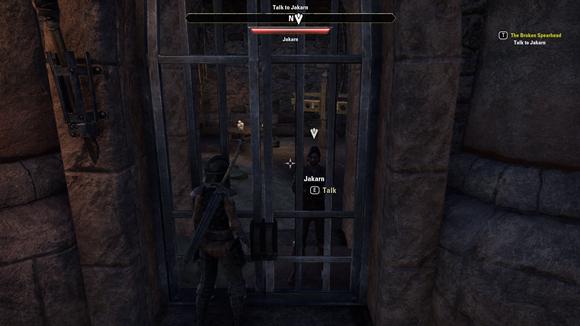 Teso discover companions in prison
