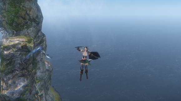 Icarus online falling my character