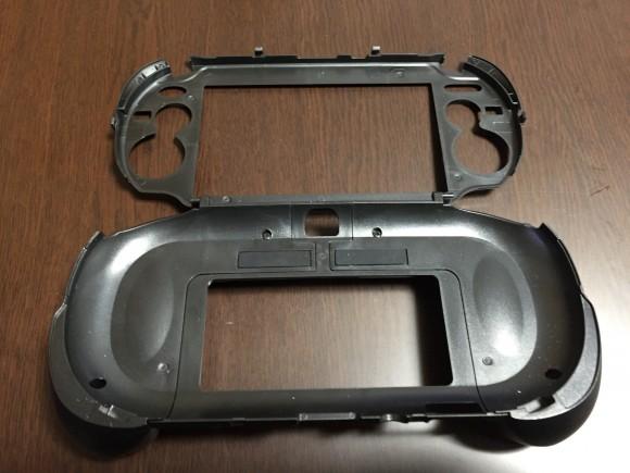 Case adding L2 and R3 button to PSvita open