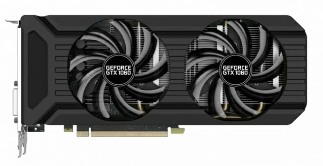 Palit geforce gtx1060 6gb dual