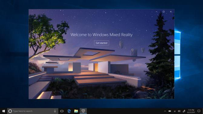 Windows mr demo screen