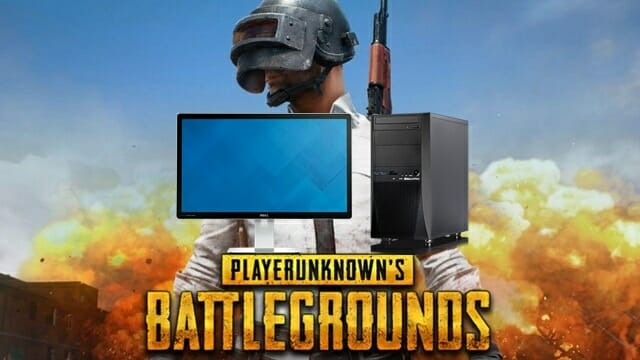 The lowest price pc and monitor that pubg can play