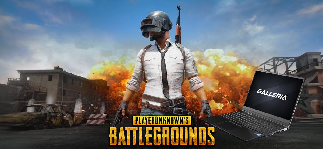 Note gaming pc for pubg