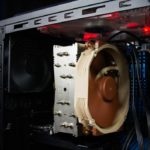 Exhaust heat fan for gaming PC