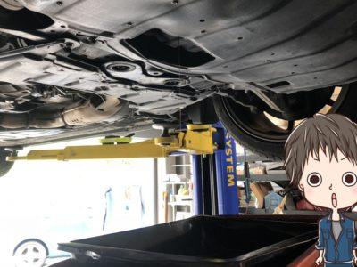 新車のオイル交換