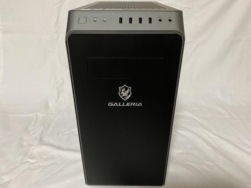 ガレリアXA7C-R38のレビュー