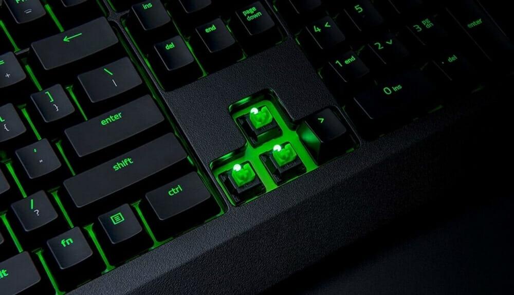 ゲーミングキーボードの軸